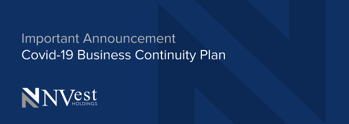 Important announcement - Covid-19 Business Continuity Plan